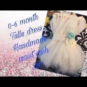 Infant tutu dress